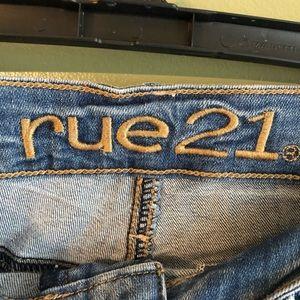 Rue21 Shorts - Rue 21 Distressed Denim Shorts 1/2